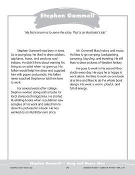 """Pocket 09: Stephen Gammell: """"Song and Dance Man"""" (Caldecott Winners 1-3)"""