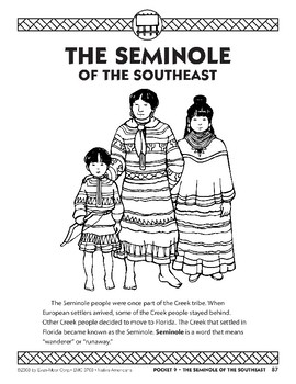 Pocket 09: The Seminole of the Southeast (Native Americans)