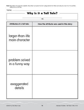 Pocket 09: Write an Original Tall Tale (Tall Tales)