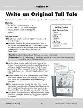 Pocket 09: Write an Original Tall Tale (Tall Tales)