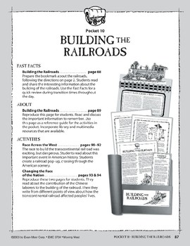 Pocket 10: Building the Railroads (Moving West)