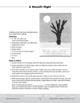 "Pocket 10: John Schoenherr: ""Owl Moon"" (Caldecott Winners 1-3)"