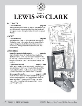 Pocket 10: Lewis and Clark (Explorers of North America)