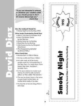 "Pocket 11: David Diaz: ""Smoky Night"" (Caldecott Winners 4-6)"