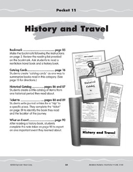 Pocket 11: History and Travel (Nonfiction)