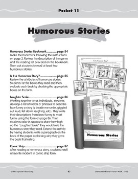 Pocket 11: Humorous Stories (Fiction)