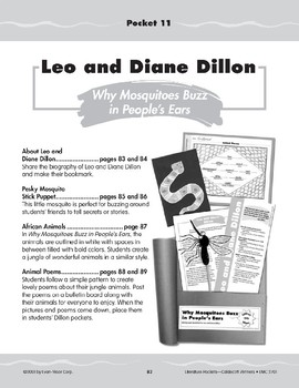 "Pocket 11: Leo and Diane Dillon: ""Why Mosquitoes Buzz in People's Ears"""