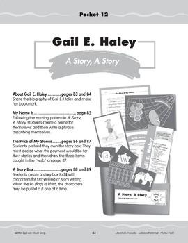 "Pocket 12: Gail E. Haley: ""A Story, A Story"" (Caldecott Winners 4-6)"
