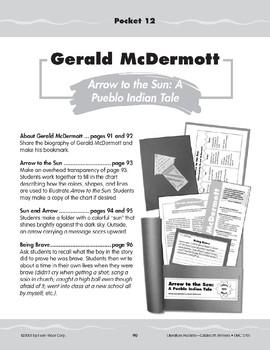 """Pocket 12: Gerald McDermott: """"Arrow to the Sun: A Pueblo Indian Tale"""""""