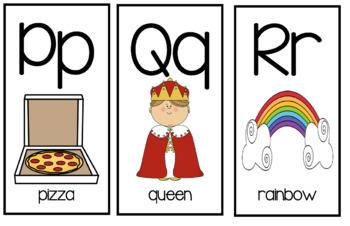 Pocket Alphabet Cards