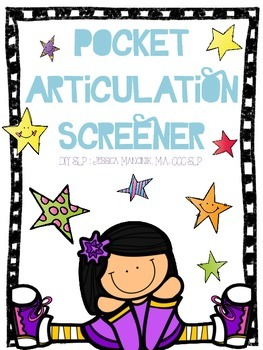 Pocket Articulation Screener **UPDATED!**