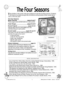 Pocket Book About the Four Seasons
