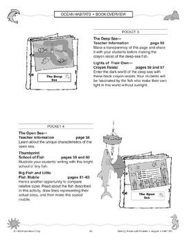 Pocket Book: Ocean Habitats