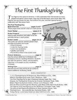 Pocket Book: The First Thanksgiving