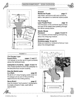 Pocket Book of the Amazon Rainforest