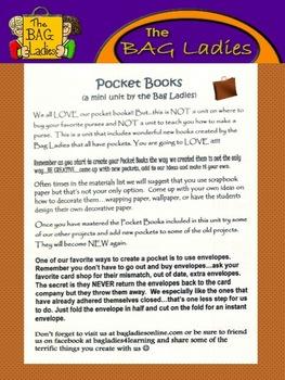 Pocket Books- A Mini-Unit by The Bag Ladies!!!