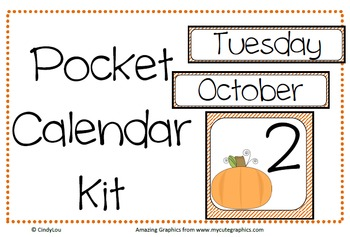 Pocket Calendar Kit