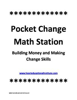 Pocket Change Math Station