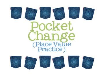 Pocket Change Place Value Game