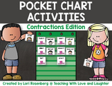 Pocket Chart Activities {Contractions Edition}