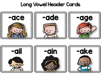 Pocket Chart Activities {Long Vowels Edition}