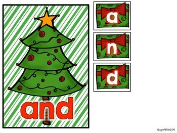 Pocket Chart Activities & Printables December