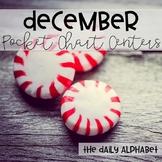 Pocket Chart Activities & Printables December