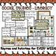 November Pocket Chart Activities Thanksgiving, Turkey, Pilgrims, Squirrel, Owl