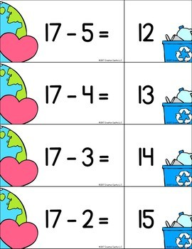 Pocket Chart Activities for Addition and Subtraction within 20