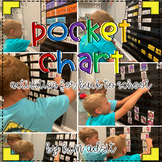 Pocket Chart Activities for Back to School by Kim Adsit