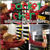 Pocket Chart Activities for December by Kim Adsit