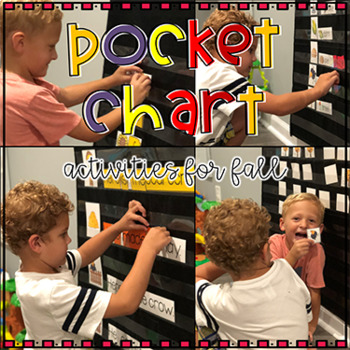 Pocket Chart Activities for Fall by Kim Adsit