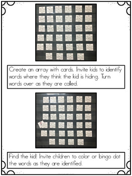 Pocket Chart Activities for January by Kim Adsit
