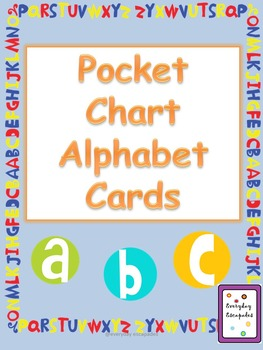 Pocket Chart Alphabet Cards