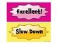 Pocket Chart Behavior Cards