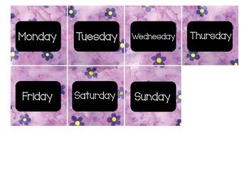 Calendar - Pocket Chart Calendar