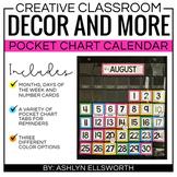 Pocket Chart Calendar