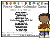 Pocket Chart Calendar Cards