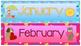 Pocket Chart Calendar Cards - Australian Schools