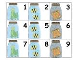 Calendar: Pocket Chart Calendar Cards - Bugs In a Jar