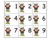 Calendar: Pocket Chart Calendar Cards - Ladybug Bears