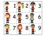 Calendar: Pocket Chart Calendar Cards - Pirate