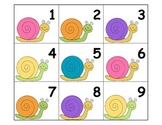 Calendar: Pocket Chart Calendar Cards - Snails