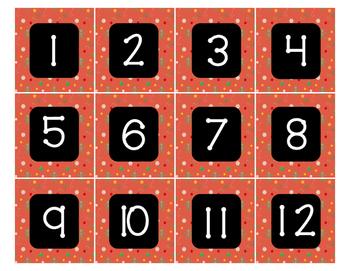 Calendar - Pocket Chart Calendar December