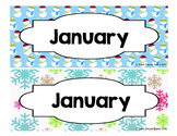 Calendar - Pocket Chart Calendar January