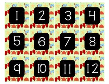 Calendar - Pocket Chart Calendar June