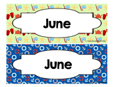 Calendar - Pocket Chart Calendar June