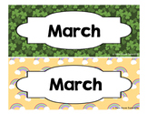 Calendar - Pocket Chart Calendar March