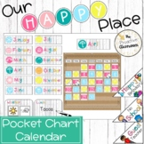 Pocket Chart Calendar   Weather Cart   Our Happy Place Cla