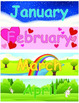 Pocket Chart Calendar for Northern Hemisphere